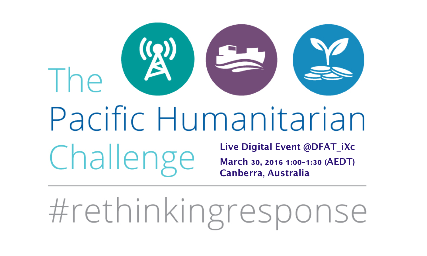 Updated: Watch our #RethinkingResponse Digital Event